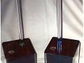 12AB - Porta Rot Carta con Llamada Camarero, Luz 3 Colores y Tiempo de Espera, Varias alturas