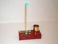 31AB - Porta Rot Carta con Llamada de Camarero, Luz 3 Colores y Tiempo de Espera