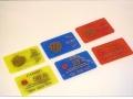 8AB - Fichas Grabadas y Numeradas Tamaño Visa