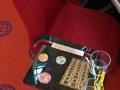 3AR - Apoyabrazos Metacrilato con mesa abatible