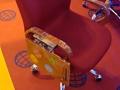 6AR - Apoyabrazos Metacrilato con mesa abatible