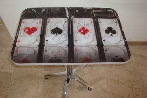 mesas personalizadas poker